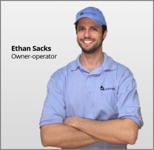 Ethan Sacks, owner and proprietor, Potomac MD. What is pet waste removal and how does it work?